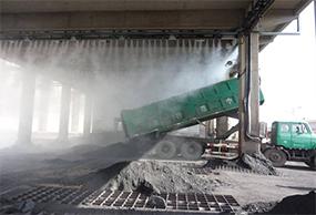 煤堆厂干雾抑尘