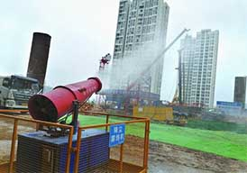 超细雾炮设备