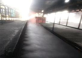 高压微雾除尘