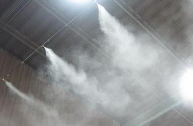 喷雾降尘的团聚效果如何?