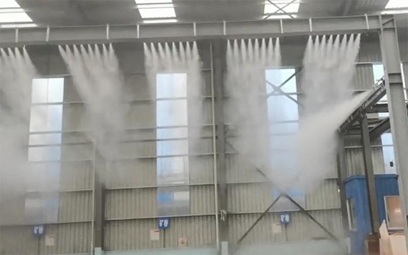 干雾抑尘装置的优势是什么?