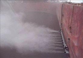 干雾抑尘工作原理 干雾除尘水雾形成原理